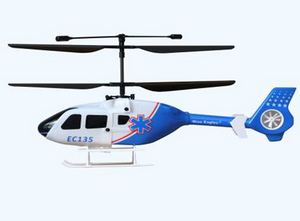 Вертолет Nine Eagle EC 135 2.4 GHz (Blue RTF Version)