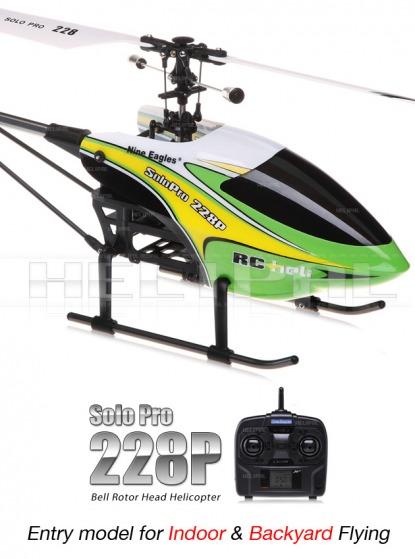 Вертолет Nine Eagle Solo PRO 228P 2.4 GHz