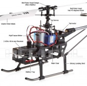 Вертолет Nine Eagle Solo PRO 228P 2.4 GHz-фото 5