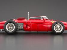 """Коллекционная модель автомобиля СMC Ferrari 156F1 Dino """"Sharknose"""", 1961 1/18-фото 7"""