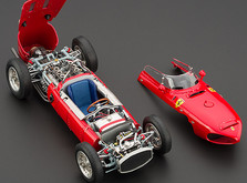 """Коллекционная модель автомобиля СMC Ferrari 156F1 Dino """"Sharknose"""", 1961 1/18-фото 3"""
