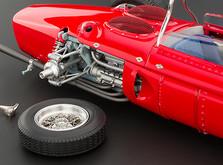"""Коллекционная модель автомобиля СMC Ferrari 156F1 Dino """"Sharknose"""", 1961 1/18-фото 1"""