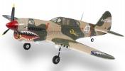 Радиоуправляемая модель копия  Curtiss P-40 Warhawk-фото 2