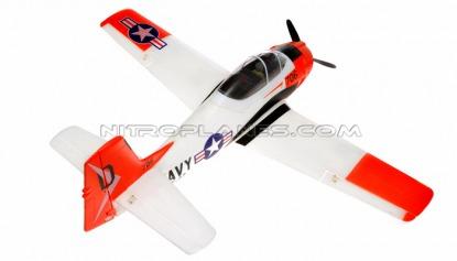 Радиоуправляемый самолёт T-28 Trojan 800 мм 2.4GHz RTF Red New V2