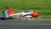 Радиоуправляемый самолёт T-28 Trojan 800 мм 2.4GHz RTF Red New V2-фото 4