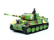 Танк микро р/у 1:72 Tiger со звуком!-фото 1