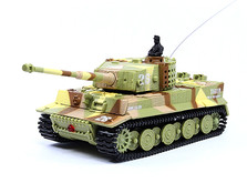 Танк микро р/у 1:72 Tiger со звуком!-фото 3