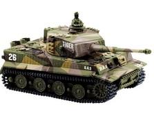 Танк микро р/у 1:72 Tiger со звуком!-фото 4