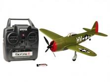 Радиоуправляемый мини-самолёт SkyZone Micro P-47 Thunderbolt-фото 3