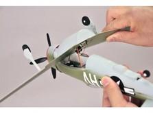 Радиоуправляемый мини-самолёт SkyZone Micro P-47 Thunderbolt-фото 2