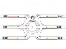 Рама квадрокоптера Tarot 550-фото 5