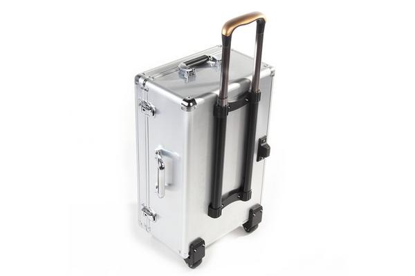 Алюминиевый кофр к квадрокоптеру phantom 4 pro защита винтов mavic pro серая