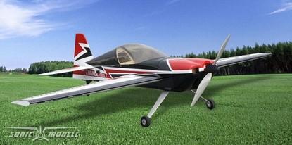 Пилотажный самолет Sonic Modell Sbach 342 Balsa Electric 30E копия 1240мм KIT