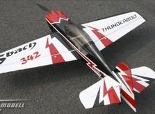 Пилотажный самолет Sonic Modell Sbach 342 Balsa Electric 30E копия 1240мм KIT-фото 2
