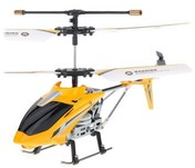 Вертолет Микроша UDIRC U807 155мм, 3CH, гироскоп, IR, жёлтый (Metal RTF)
