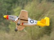 Cамолет на радиоуправлении Art-Tech P-51D Mustang 400CL-фото 12