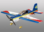 Радиоуправляемая модель пилотажного самолета  Art-Tech Як-54 2.4GHz RTF