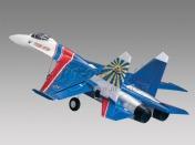 Радиоуправляемая модель реактивного самолета  Су-27 2.4GHz (RTF Version)