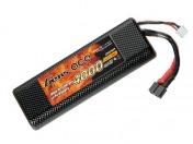 Купить  аккумулятор AE Gens Ace Li-Po battery 7.4V 4000 mAh 2S1P 30C Hard Case Case в магазине Тяга! Огромный выбор аккумуляторв и зарядных устройств для радиоуправляемых моделей машин, самолётов, катеров!