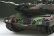 Радиоуправляемый танк  German Leopard 2 A6 NATO 1:24 Airsoft /JR (Camouflage RTR Version)-фото 1