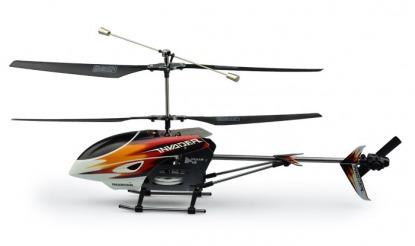 Вертолет на радиоуправлении для полетов по камере Invader Helicopter Hubsan
