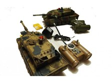 Радиоуправляемый танковый бой Uni-Fun Huan Qi 558-фото 2