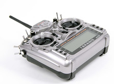 16-канальная радиоаппаратура FrSky Taranis с поддержкой телеметрии , приемником X8R и алюминиевым кейсом-фото 3