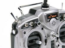 16-канальная радиоаппаратура FrSky Taranis с поддержкой телеметрии , приемником X8R и алюминиевым кейсом-фото 1