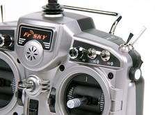16-канальная радиоаппаратура FrSky Taranis с поддержкой телеметрии , приемником X8R и алюминиевым кейсом-фото 2