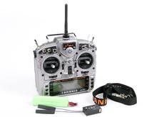 16-канальная радиоаппаратура FrSky Taranis с поддержкой телеметрии , приемником X8R и алюминиевым кейсом-фото 7