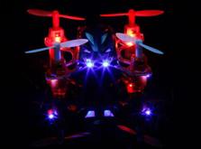 Радиоуправляемый квадрокоптер WL Toys V272 Velocity Nano-фото 4