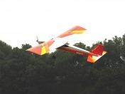 Тренировочная радиоуправляемая модель самолета TIGER TRAINER OBL 2.4GHz Mode 2-фото 3