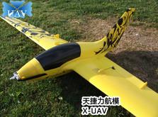 Радиоуправляемая модель планера X-UAV Pioneer PNP-фото 1