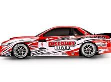 Радиоуправляемый дрифтовый автомобиль HPI E10 2014 Nissan S13 1:10 RTR-фото 1