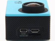 Экшн-камера SJCam SJ4000 (синяя)-фото 2