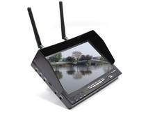 "Монитор для FPV Boscam 7"" 5,8 Ghz с двумя 32 приемниками на 32 канала и аккумулятором 2500 mAh-фото 1"