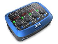 Зарядное устройство SkyRC Quattro Micro для однобаночных LiPo аккумуляторов с блоком питания
