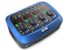 Зарядное устройство SkyRC Quattro Micro для однобаночных LiPo аккумуляторов с блоком питания-фото 1
