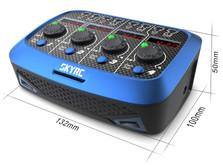 Зарядное устройство SkyRC Quattro Micro для однобаночных LiPo аккумуляторов с блоком питания-фото 4