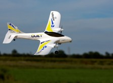 Летающая авиамодель для начинающих Hobbyzone Duet RTF  2,4 ГГц-фото 6