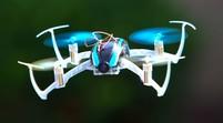Квадрокоптер Blade Nano QX FPV RTF с видеоочками FatShark