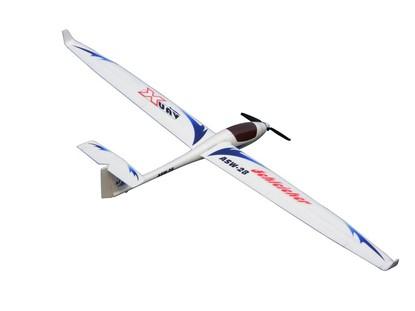 Радиоуправляемая модель планера X-UAV ASW-28 (электро 1700 мм) PNF