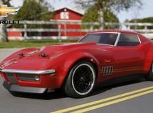 Радиоуправляемый автомобиль Vaterra Custom Chevrolet Corvette Stingray 1969 1:10 RTR-фото 2