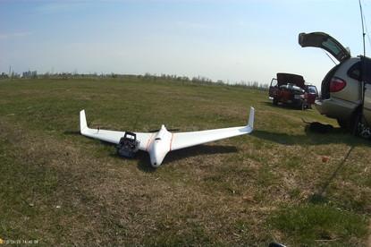 Летающее крыло Albatros X-7