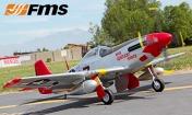 Радиоуправляемая модель самолета P-51D Mustang V7 Red Tail-фото 5
