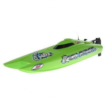 Радиоуправляемый катамаран Joysway Green Sea Rider MK2