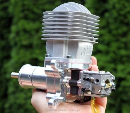 Профессиональный авиамодельный бензиновый двигатель JC60 EVO