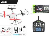 Квадрокоптер WLToys V686K Explore с WiFi видеокамерой-фото 4