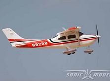 Модель cамолета Sonic Modell Cessna 182 500 Class V2 1400 мм PNP-фото 1