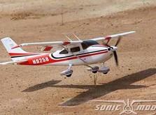 Модель cамолета Sonic Modell Cessna 182 500 Class V2 1400 мм PNP-фото 4
